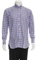 Turnbull & Asser Plaid Button-Up Shirt w/ Tags