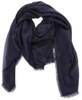 Christian Dior Navy Blue Cannage Stole