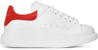 Alexander McQueen White and red classic sneakers