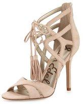Sam Edelman Azela Strappy Tassel Sandal, Soft Nude