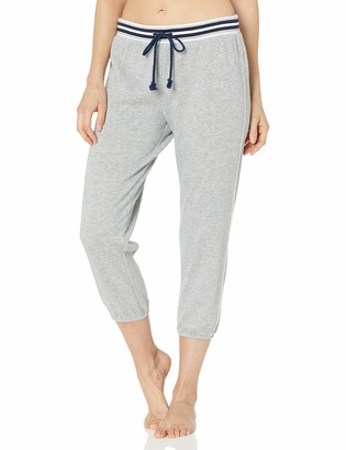 Splendid Women's Crop Jogger Capri Pant Pajama Bottom Pj