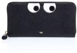 Anya Hindmarch Eyes Large Leather Zip-Around Wallet