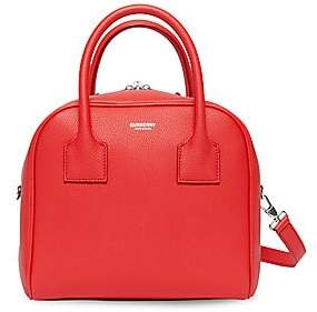 Burberry Women's Small Leather Cube Bag