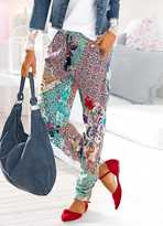 Linea Tesini Heine Mix Print Elasticated Trousers