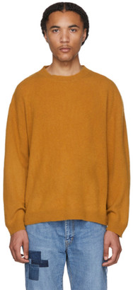 Remi Relief Tan Cashmere Shaggy Sweater