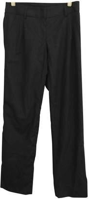 Jenni Kayne Grey Wool Trousers for Women