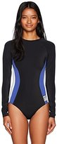 Roxy Women's Lisa Andersen Long Sleeve One Piece Swimsuit