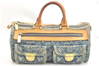 Louis Vuitton Vintage Blue Denim - Jeans Handbag