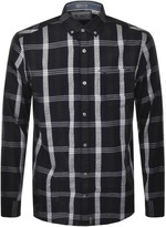 Original Penguin P55 Nep Plaid Check Shirt Navy