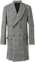 Ermanno Scervino houndstooth double-breasted coat - men - Cotton/Cupro/Wool/Virgin Wool - 48