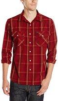 Brixton Men's Memphis Long Sleeve Woven Shirt