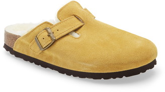 Birkenstock Boston Genuine Shearling Lined Clog