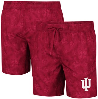Colosseum Men's Crimson Indiana Hoosiers Kavai Swim Trunks