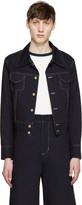 Wales Bonner Navy Denim Jacket