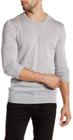 Scotch & Soda Long Sleeve Lightweight Crew Neck Wool Sweater