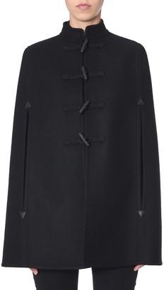 Saint Laurent Hooded Cloak