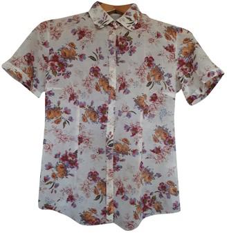 Brooksfield Ecru Cotton Top for Women