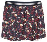 MANGO Girls Floral Print Skirt