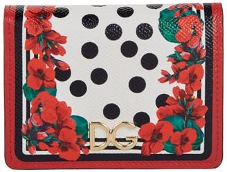 Dolce & Gabbana Small Portofino Print Wallet