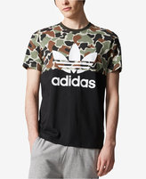 adidas Men's Camo Colorblocked T-Shirt