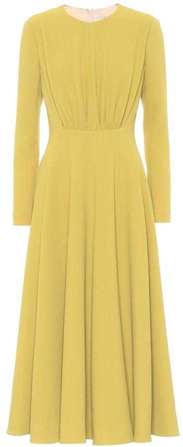 Emilia Wickstead Jorgie stretch-crepe midi dress
