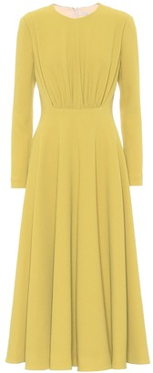 Emilia Wickstead Jorgie stretch-crepe midi dress