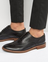 Aldo Bartolello Leather Brogue Shoes
