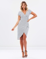 Cindy Jersey Wrap Dress