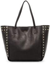 Vince Camuto Punky Leather Grommet Satchel