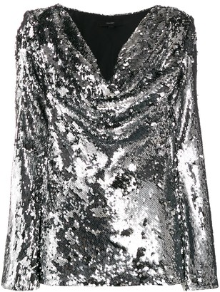 Ellery sequin-embroidered top