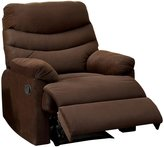 Furniture of America Valerio Flannelette Recliner