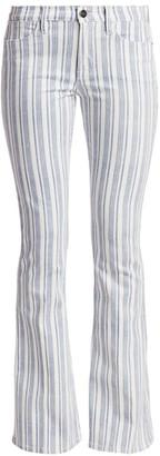 Frame Le High Flare Surfer Stripe Jeans