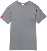 Nike Acg Wool-blend Jersey T-shirt - Gray