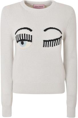 Chiara Ferragni Flirting Eye Sweater