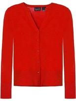 Kersh Big Apple Red Long Sleeve Cardigan