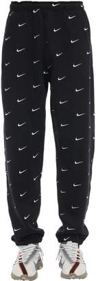 Nike Nrg Swoosh Logo Cotton Blend Pants