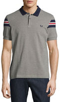 Fred Perry Bomber-Stripe Piqué Polo Shirt