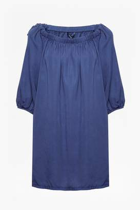 French Connection Stayton Ruffle Bardot Dress