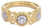 Buccellati Diamond 18k gold ring