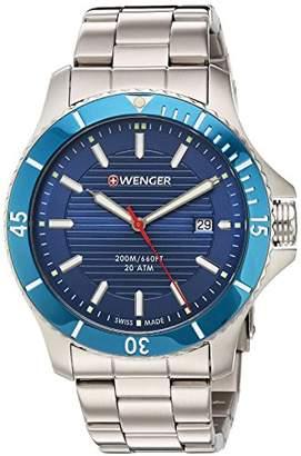 Wenger Men's 'Seaforce' Swiss Quartz Stainless Steel Casual Watch