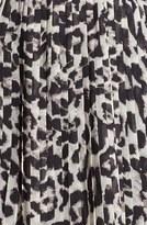 BB Dakota Faux Leather Bodice & Animal Print Skirt Dress (Online Only)