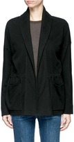 James Perse Double faced fleece jersey jacket