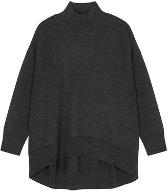 Eileen Fisher Dark Grey Merino Wool Jumper