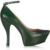 McQ by Alexander McQueen Burlesque leather platform pumps