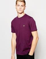 Lyle & Scott T-shirt With Eagle Logo - Purple