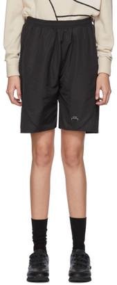 A-Cold-Wall* Black Piping Shorts