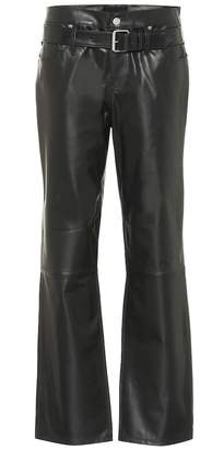 RtA Dexter belted leather pants