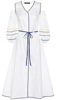 Anna October Trimmed Cotton Dress