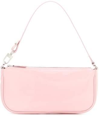 BY FAR Rachel patent leather shoulder bag
