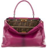 Fendi Medium Leather Peekaboo Bag